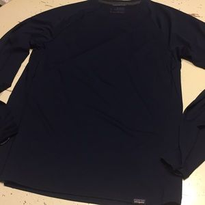 Patagonia lightweight capilene base layer navy S